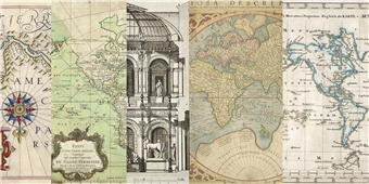 Cuadro canvas cahiers de voyage II