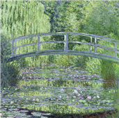 Cuadro canvas claude monet the waterlily pond