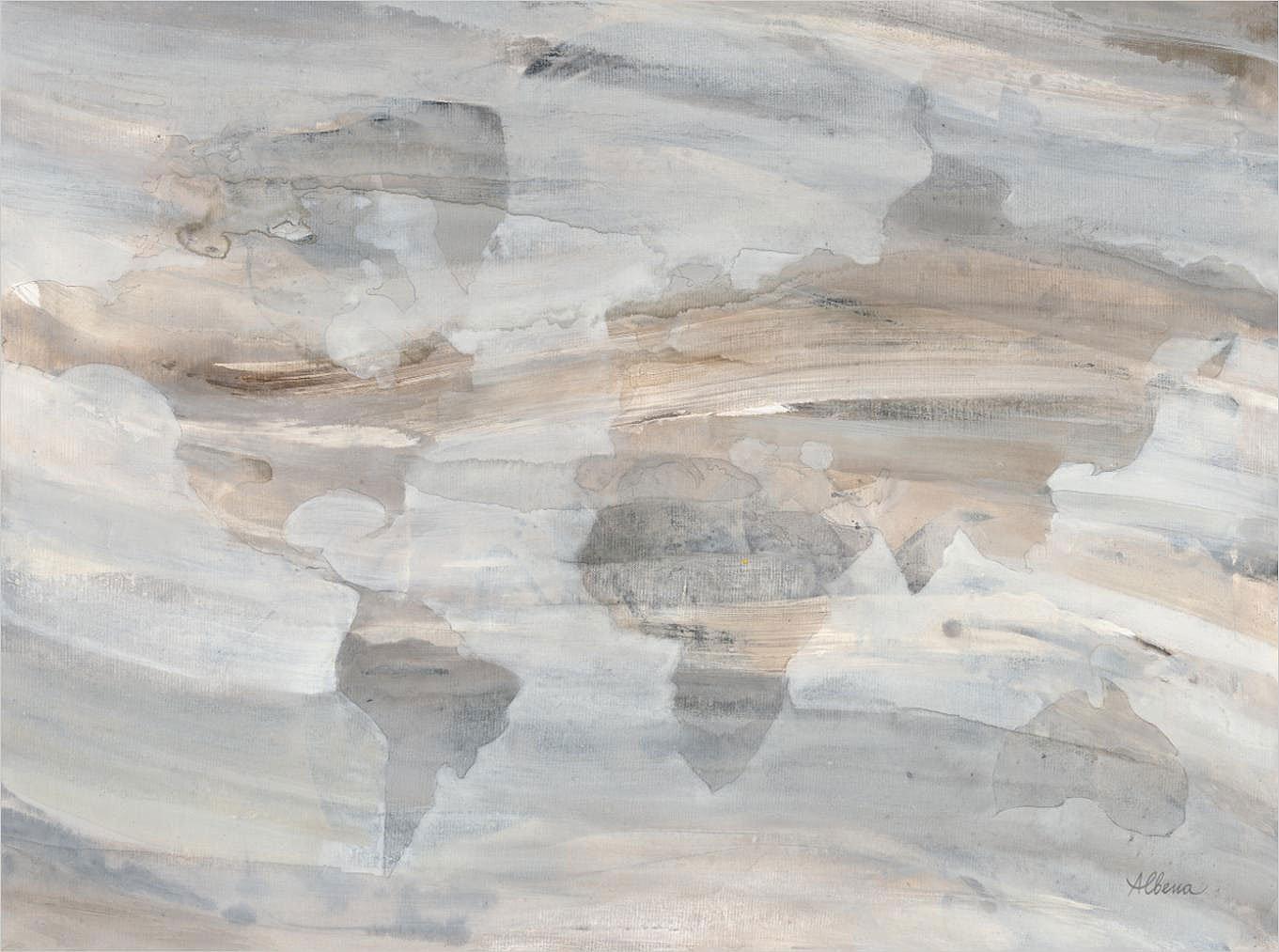 Cuadro canvas misty world