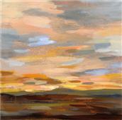 Cuadro canvas high desert sky III