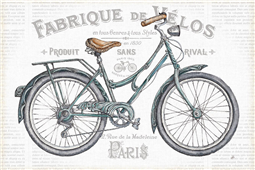Cuadro canvas bicicleta I