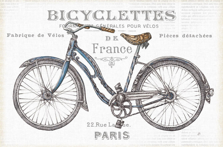 Cuadro canvas bicicleta II