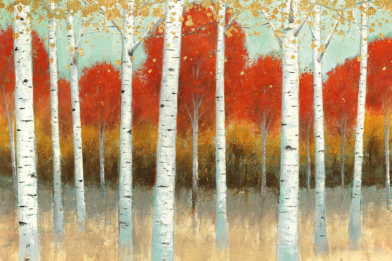 Cuadro canvas fall promenade I