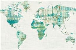 Cuadro canvas kanari map