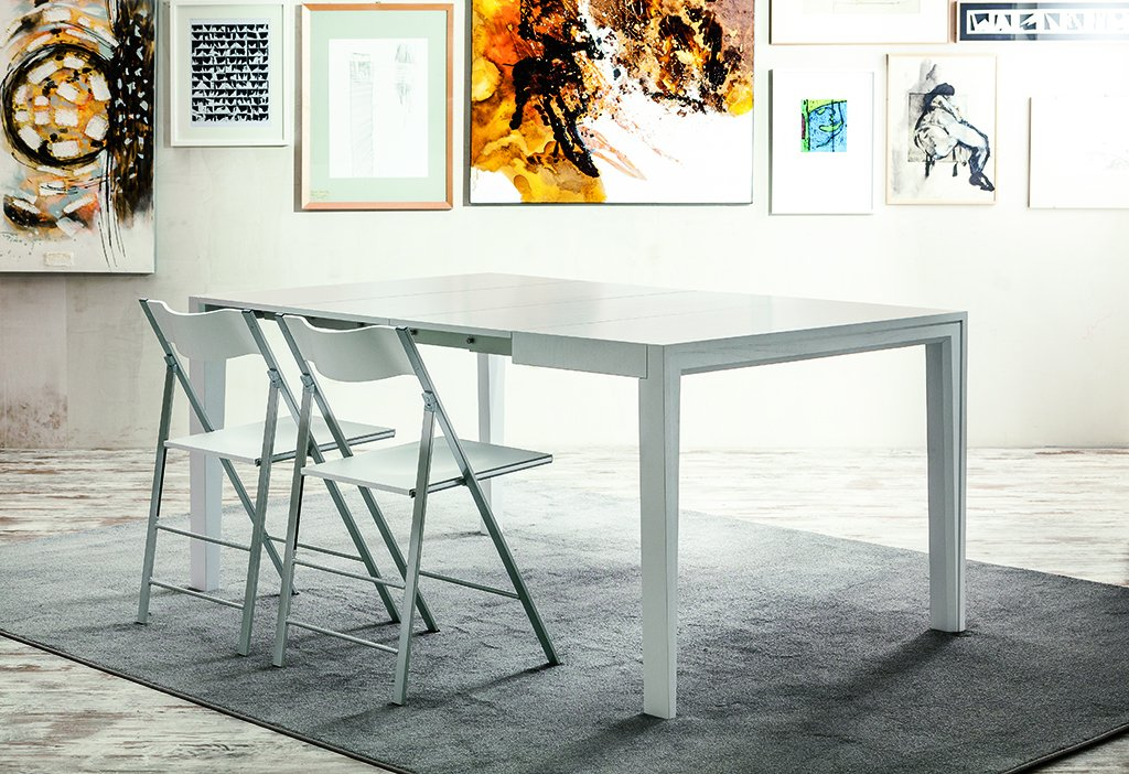 Consola extensible rectangular Voila by Pacini and Cappellini