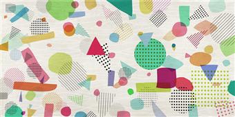 Cuadro canvas abstracto rebelion optimista