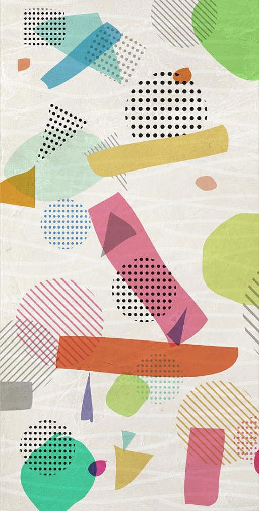 Cuadro canvas abstracto rebelion optimista I
