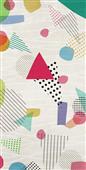 Cuadro canvas abstracto rebelion optimista II