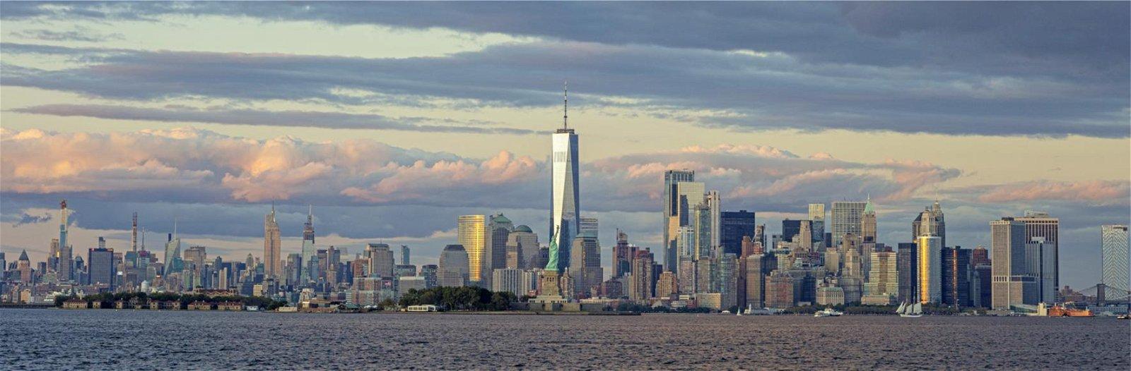 Cuadro canvas fotografia skyline manhattan
