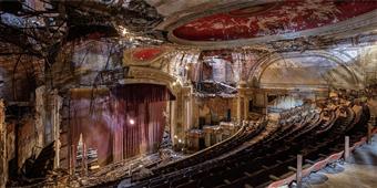 Cuadro canvas fotografia richard berenholtz teatro