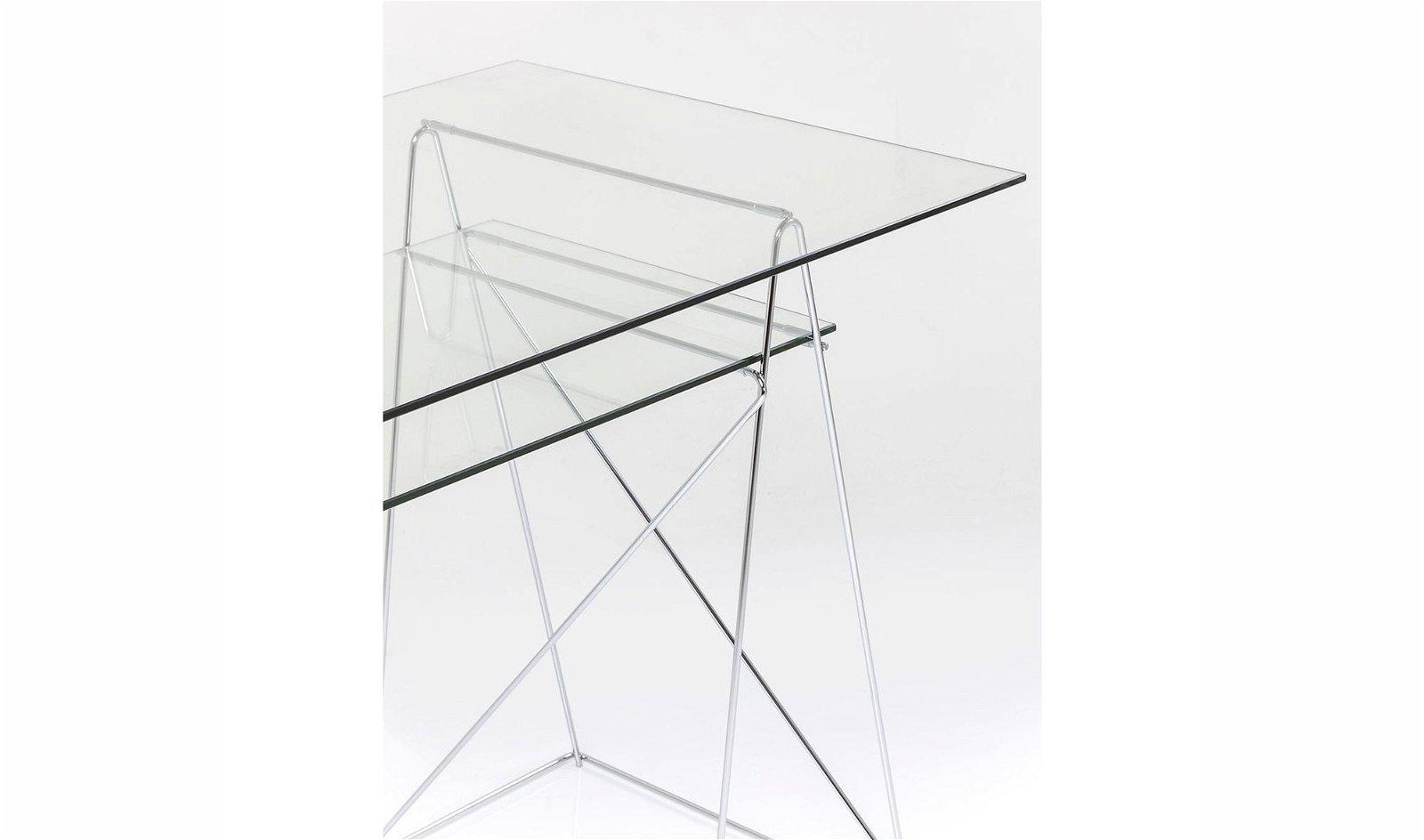 Mesa de escritorio de cristal Polar