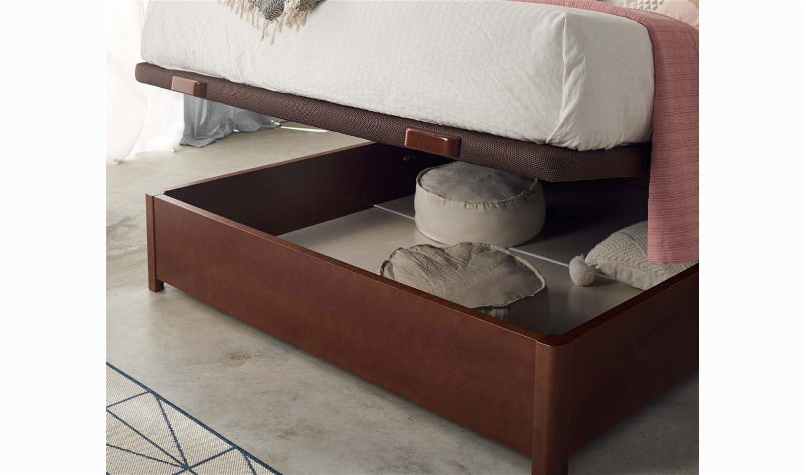 Cama con canapé clásica hega