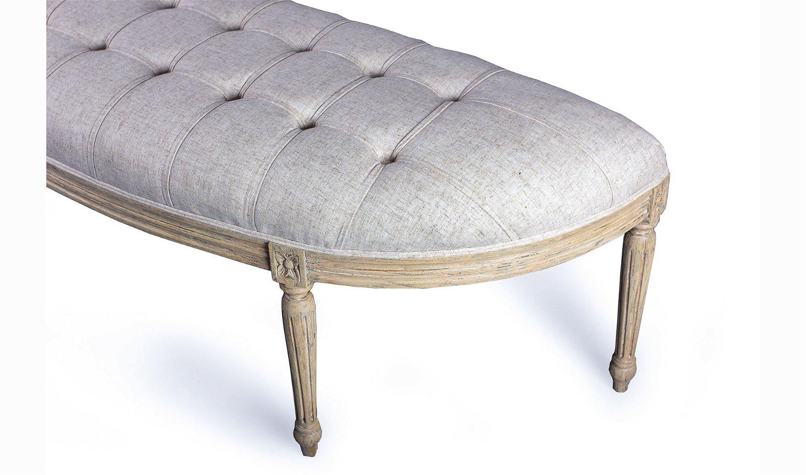 Pie de cama vintage Artisan
