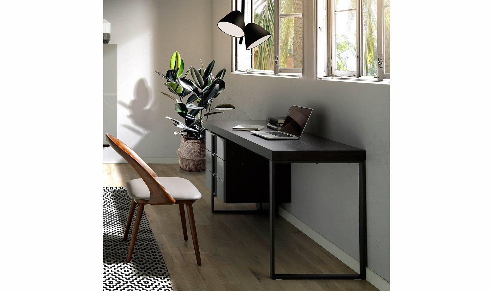 Mesa de escritorio 3 cajones de diseño Verty