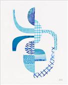 Cuadro canvas abstracto fragmentos
