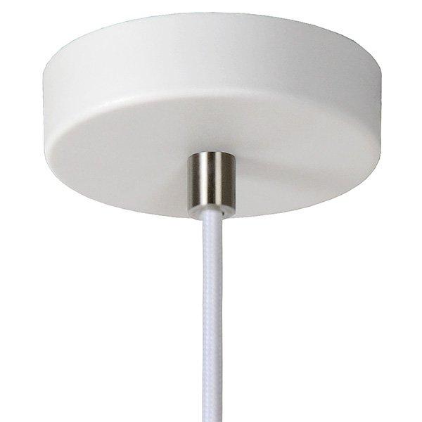 Lámpara de techo blanca pendant