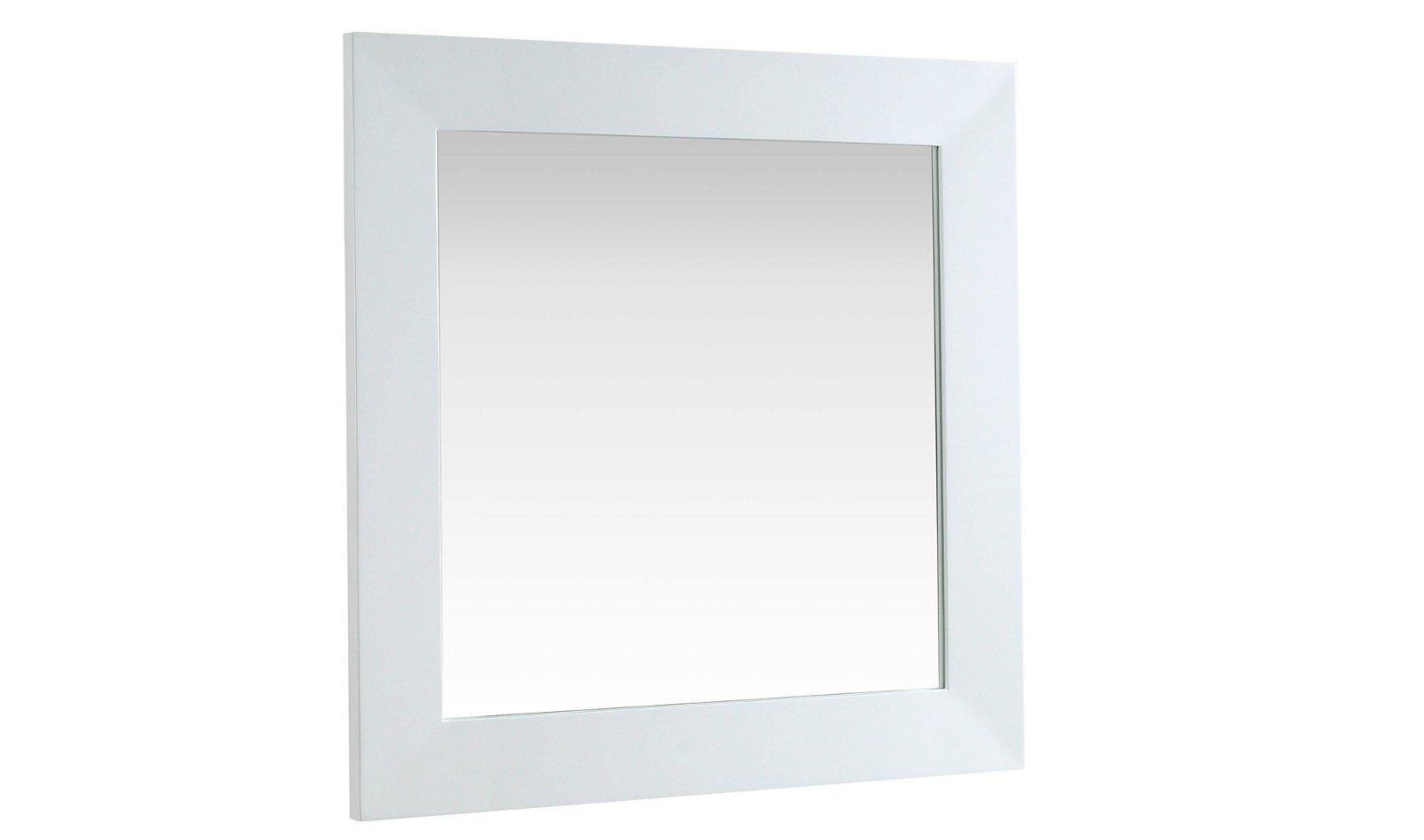 Espejo moderno blanco Hola