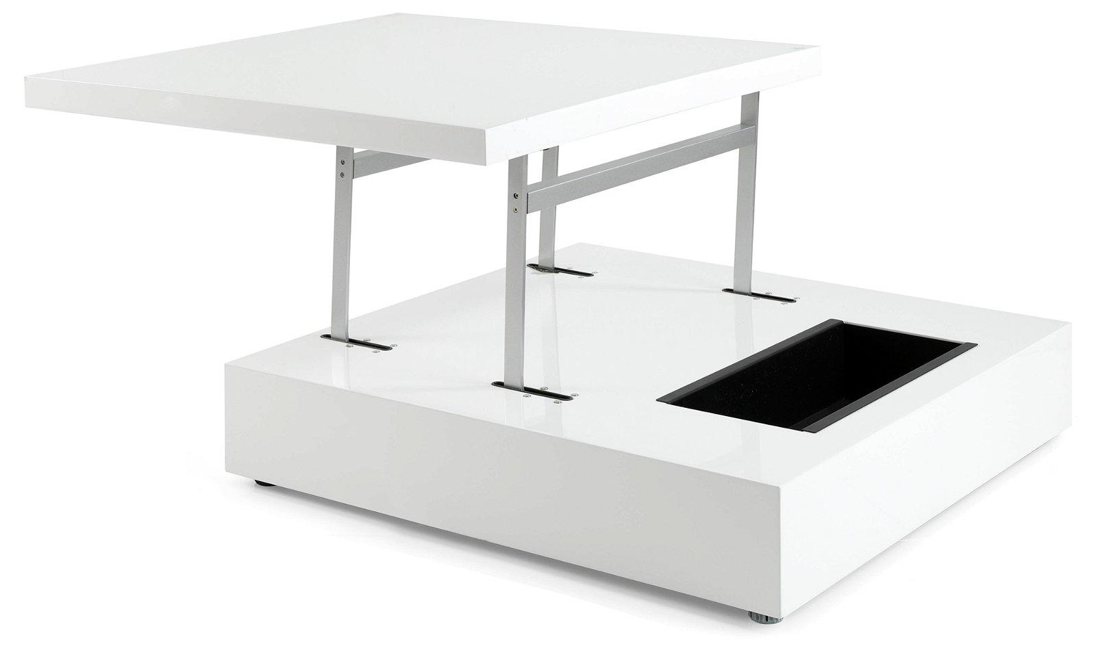 Mesa de centro elevable moderna Raff