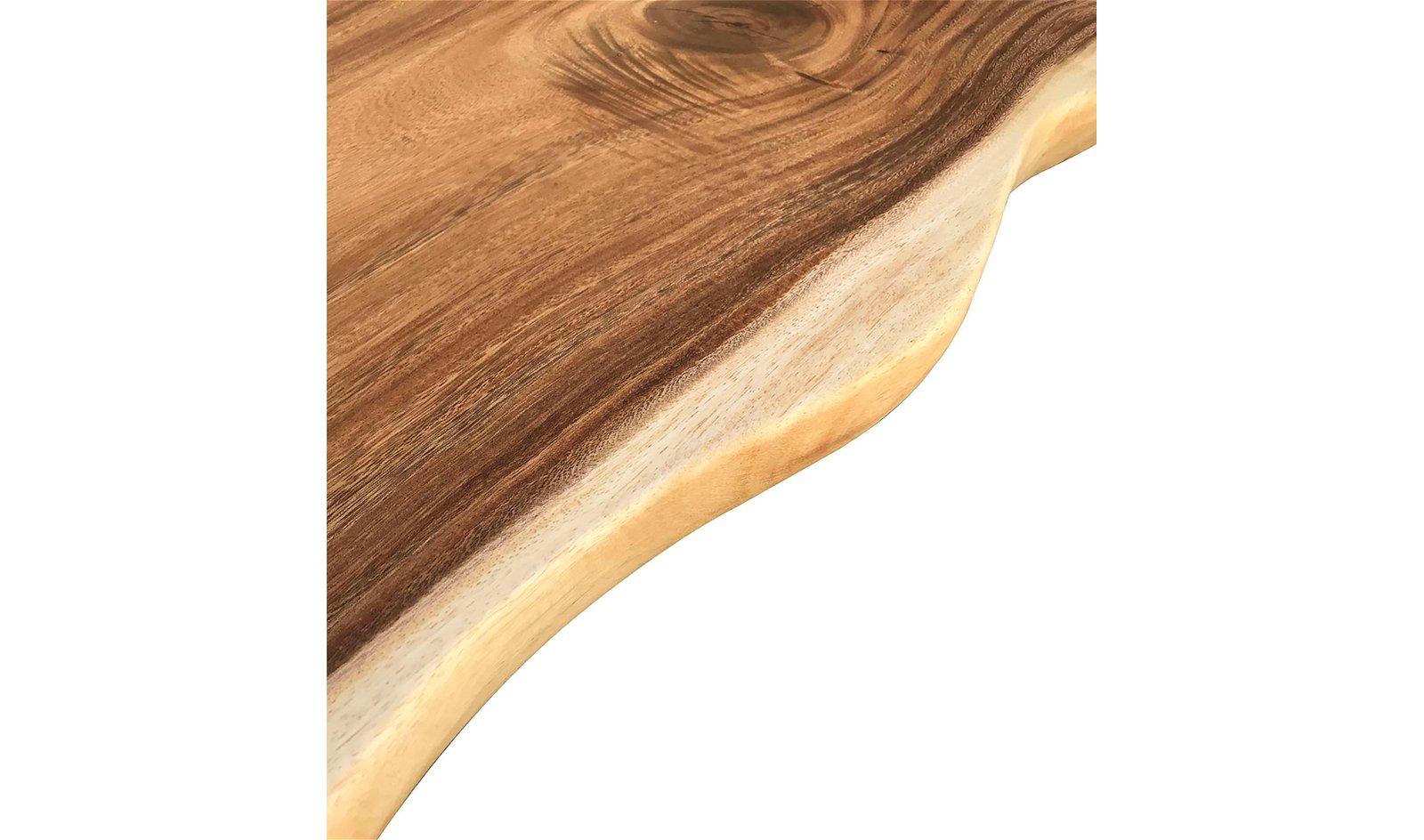 Mesa de centro irrregular madera de teca