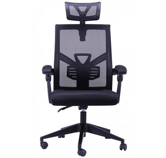 Sillón de despacho negro Gonri