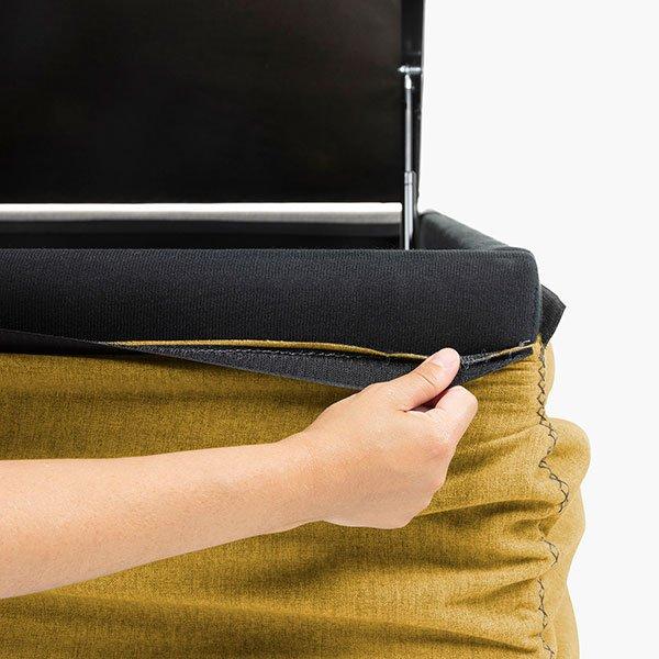 Canapé abatible moderno tela desenfundable Tokio