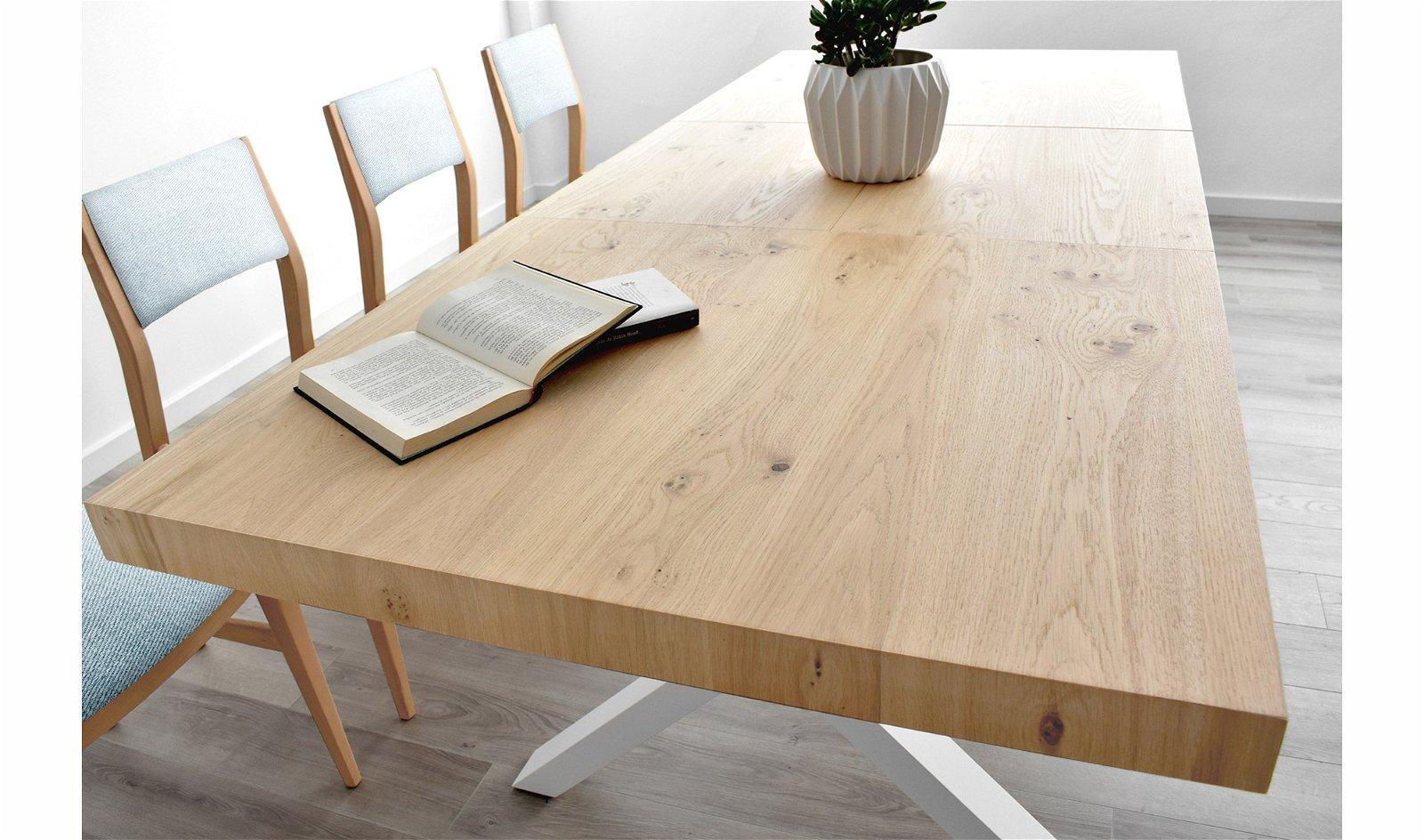 Mesa de comedor extensible Copenhague