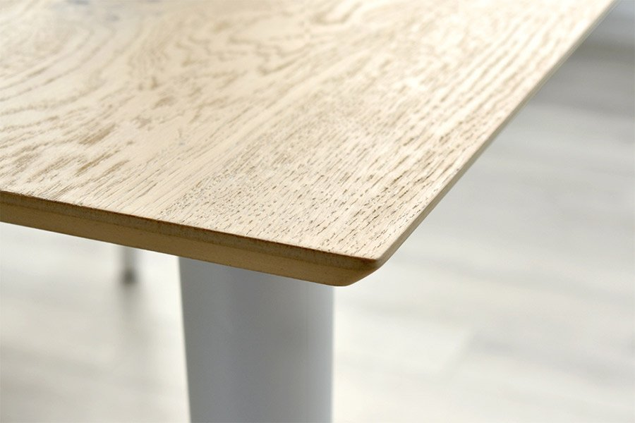 Mesa de comedor extensible nórdica Vecare