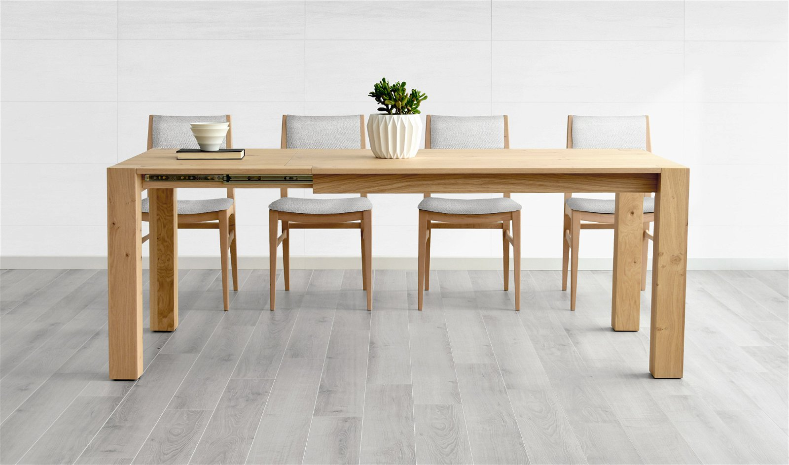 Mesa de comedor extensible nórdica Goteborg