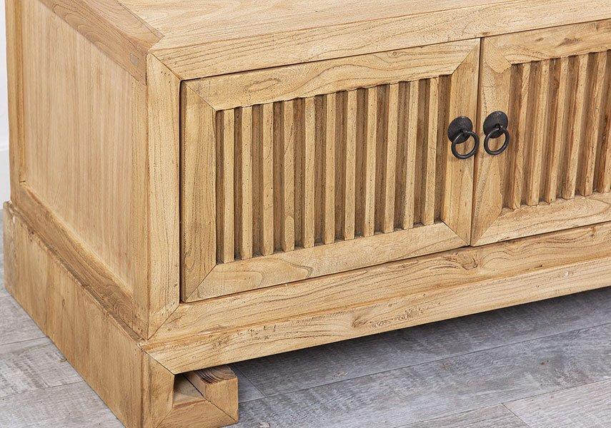 Mesa de televisión 4 puertas olmo reciclado Railay