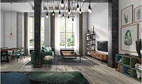 Salón industrial Loft II