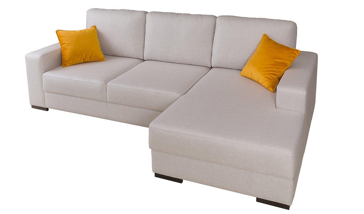Sofá con chaise longue Messina