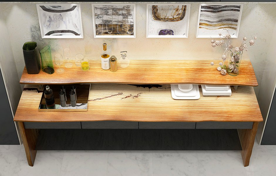 Buffet de madera maciza de Tali