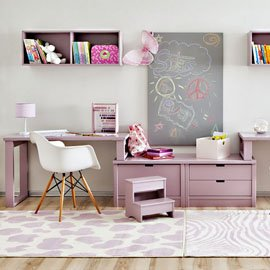 Mesas de escritorio infantiles y juveniles