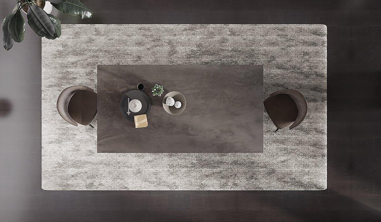 Mesa de comedor industrial microcemento Bellucci