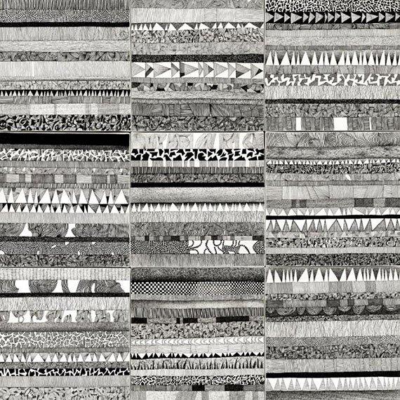 Cuadro canvas partitura visiva II