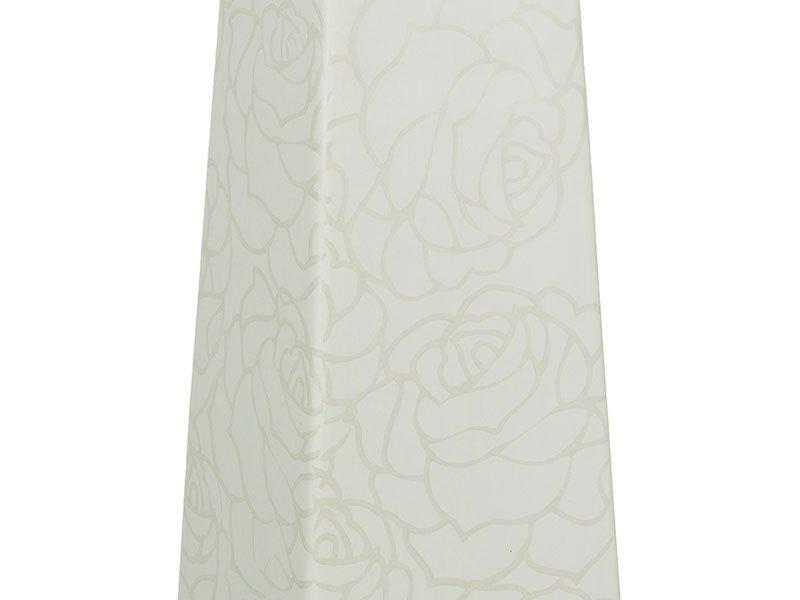 Candelabro grande blanco rose