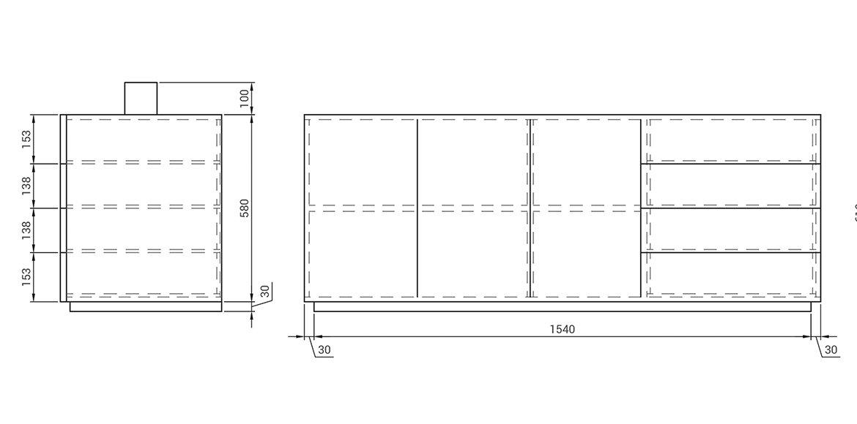 Mesa despacho diseño Mastroianni