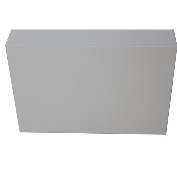 Mueble tv bajo 2 cajones industrial Loft blanco