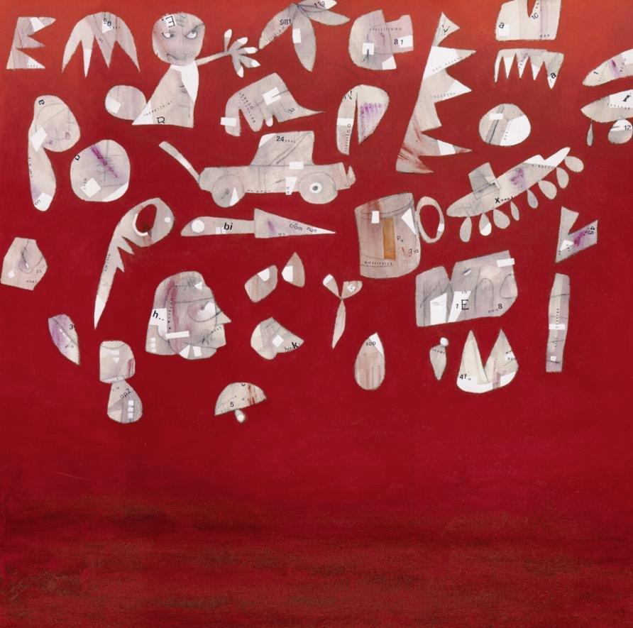 Cuadro canvas oggetti di scena