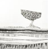 Cuadro canvas ipotesi di paesaggio II