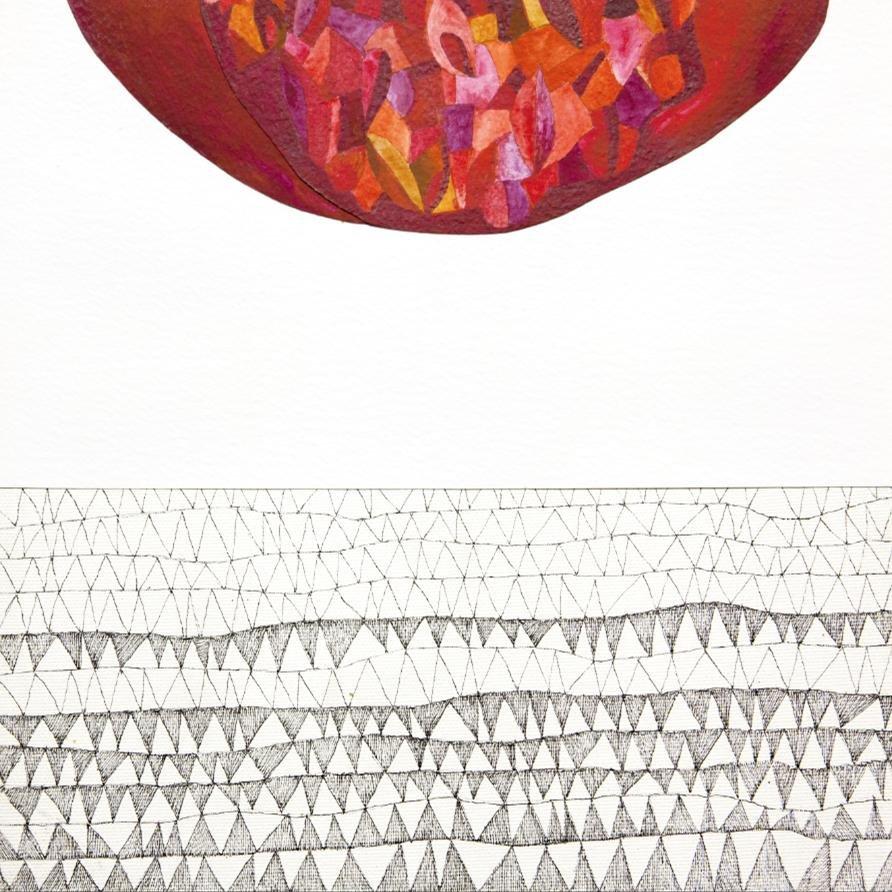 Cuadro canvas ipotesi di paesaggio III