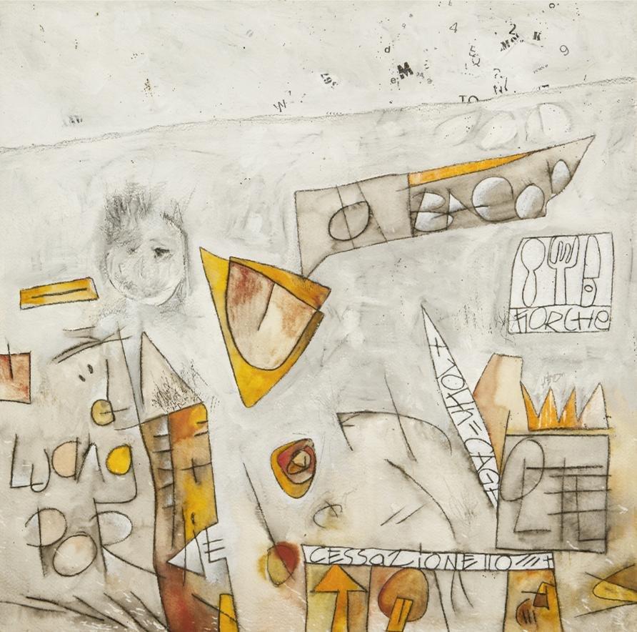 Cuadro canvas senza titolo II cage y bacon
