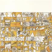Cuadro canvas senza titolo III artaud