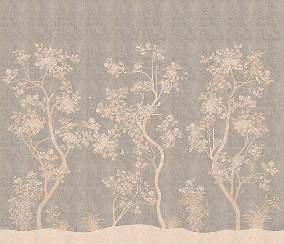 Papel pintado textil lienzo autoadesivo