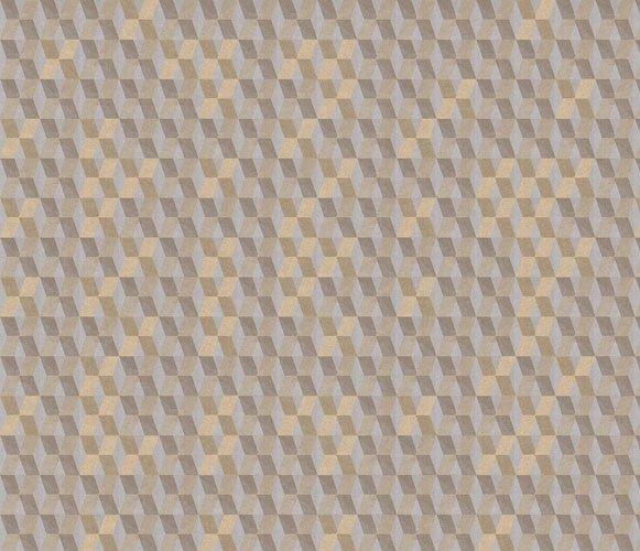 Papel pintado textil lienzo autoadhesivo Diamond