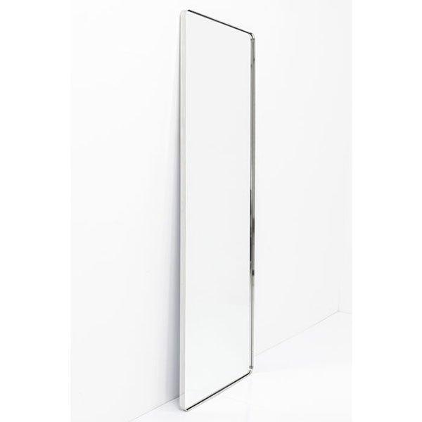 Espejo moderno metal Curvr Cromado