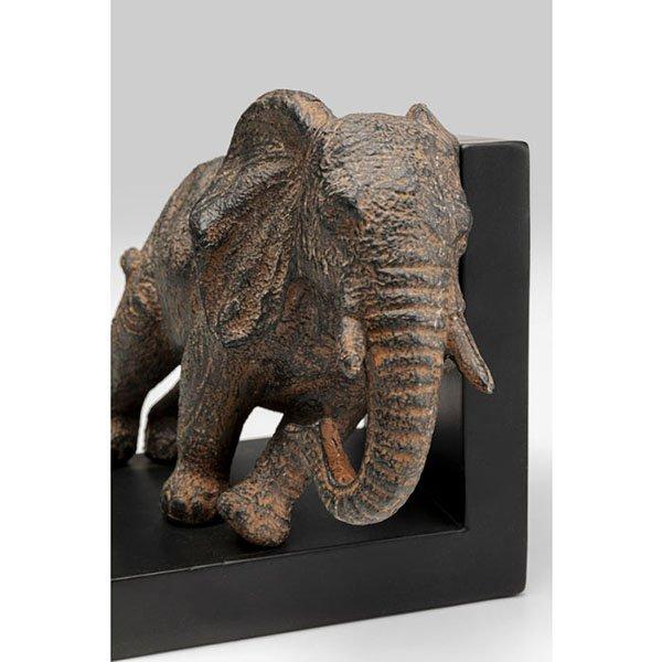 Sujeta libros Elefantes