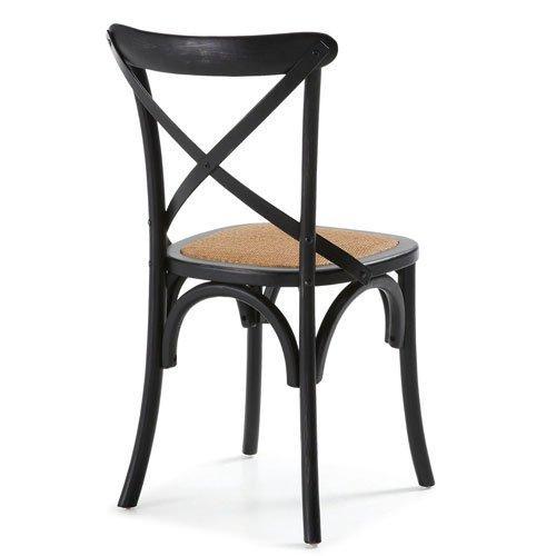 Silla negra vintage Alsie