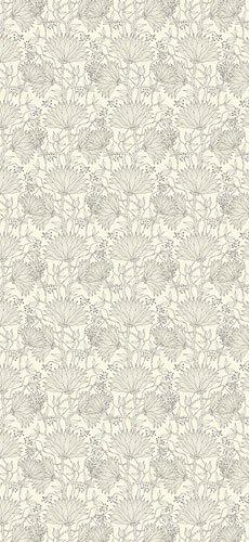 Papel pintado textil lienzo autoadhesivo Dahlia