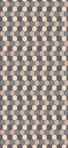 Papel pintado textil lienzo autoadhesivo Ecaille